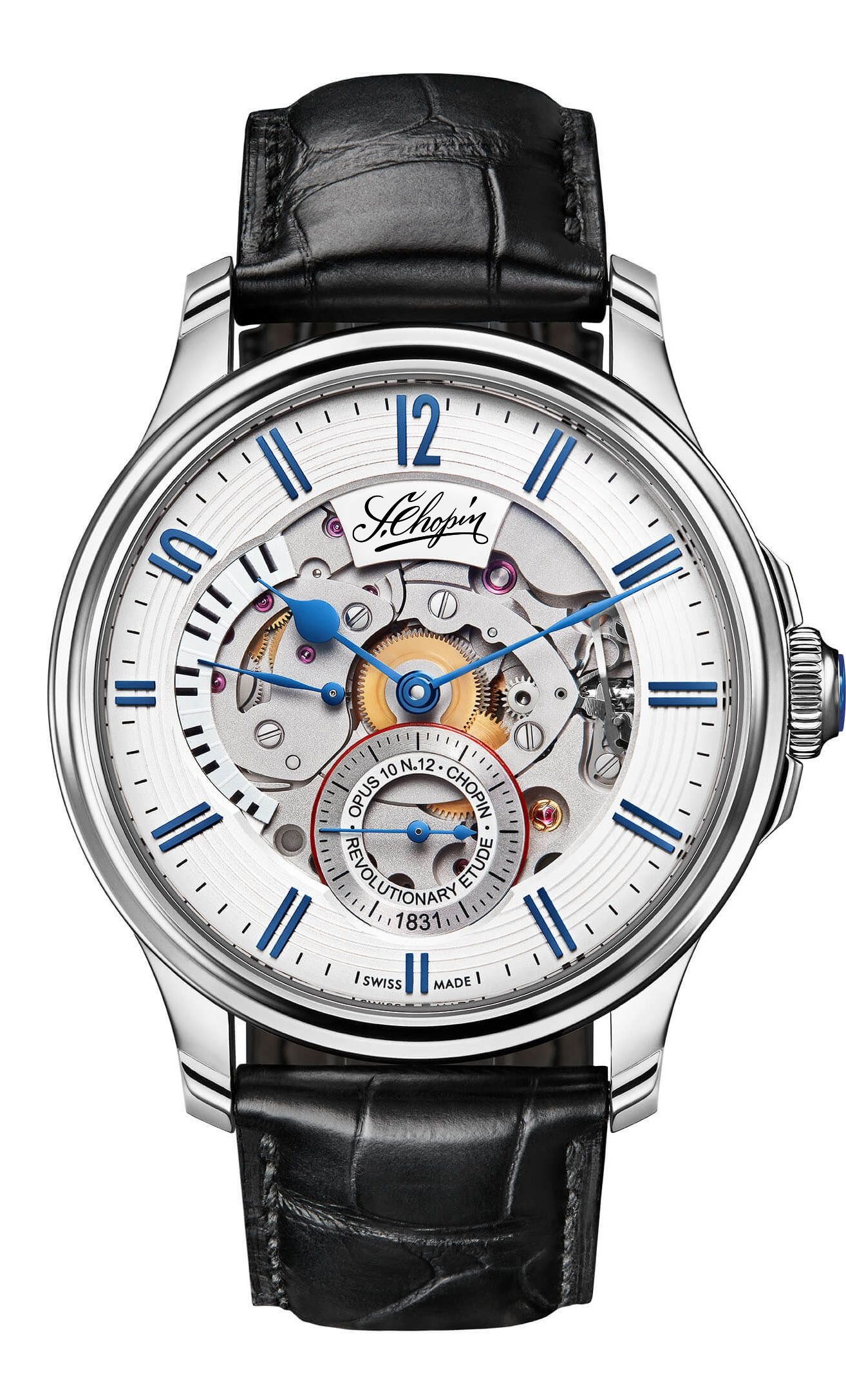 Chopin Watch Timepiece front